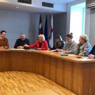 """""""Jauniešu galvaspilsēta 2020"""" darba grupas sanāksme"""