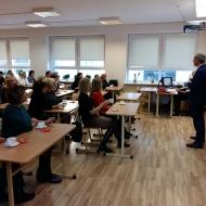 Ventspils skolu un pirmsskolu vadītāji devās pieredzes apmaiņā uz Rīgas izglītības iestādēm