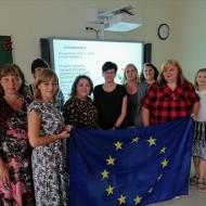 """Pārventas pamatskolas dalība Erasmus+ projektā """"Euromosaica"""""""
