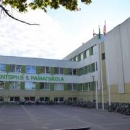 Zaļā karoga pacelšana Ventspils 1. pamatskolā