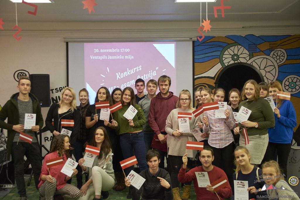 """Jaunieši aicina pārbaudīt savas spējas erudīcijas spēlē """"Mēs esam Latvija"""""""