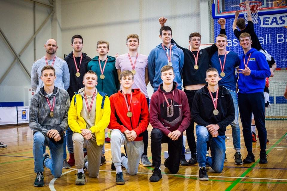 Izcīnīta bronza Latvijas Jaunatnes basketbola līgā