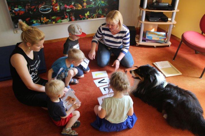 Bērnu bibliotēka aicina uz nodarbībām