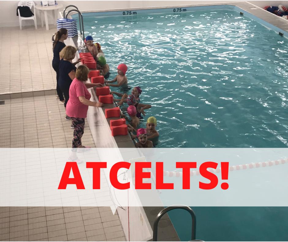 Atceltas pirmsskolu audzēkņu peldēšanas nodarbības