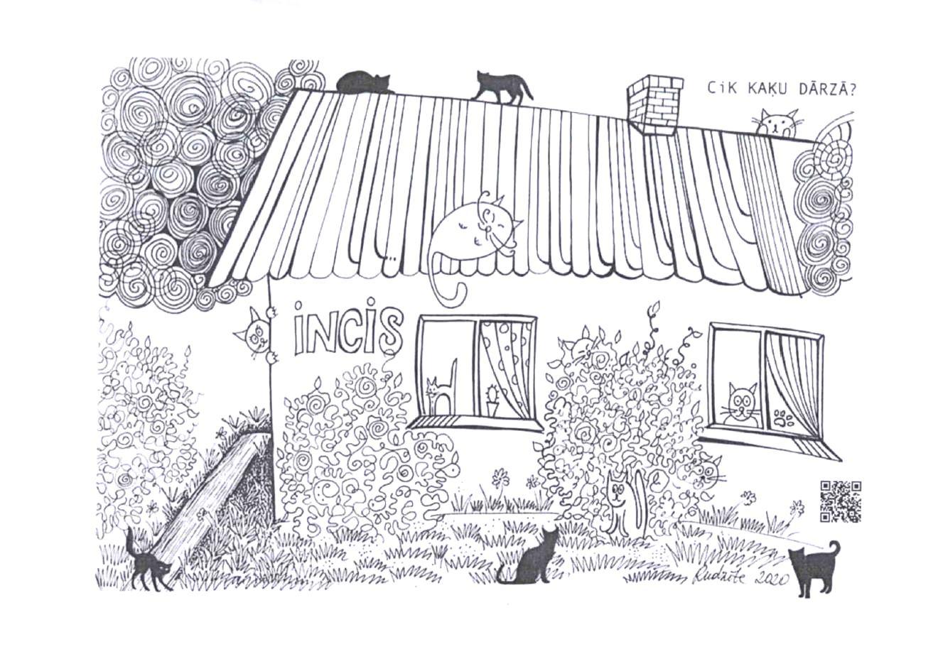 Zīmējumu konkurss – priekš kaķiem!