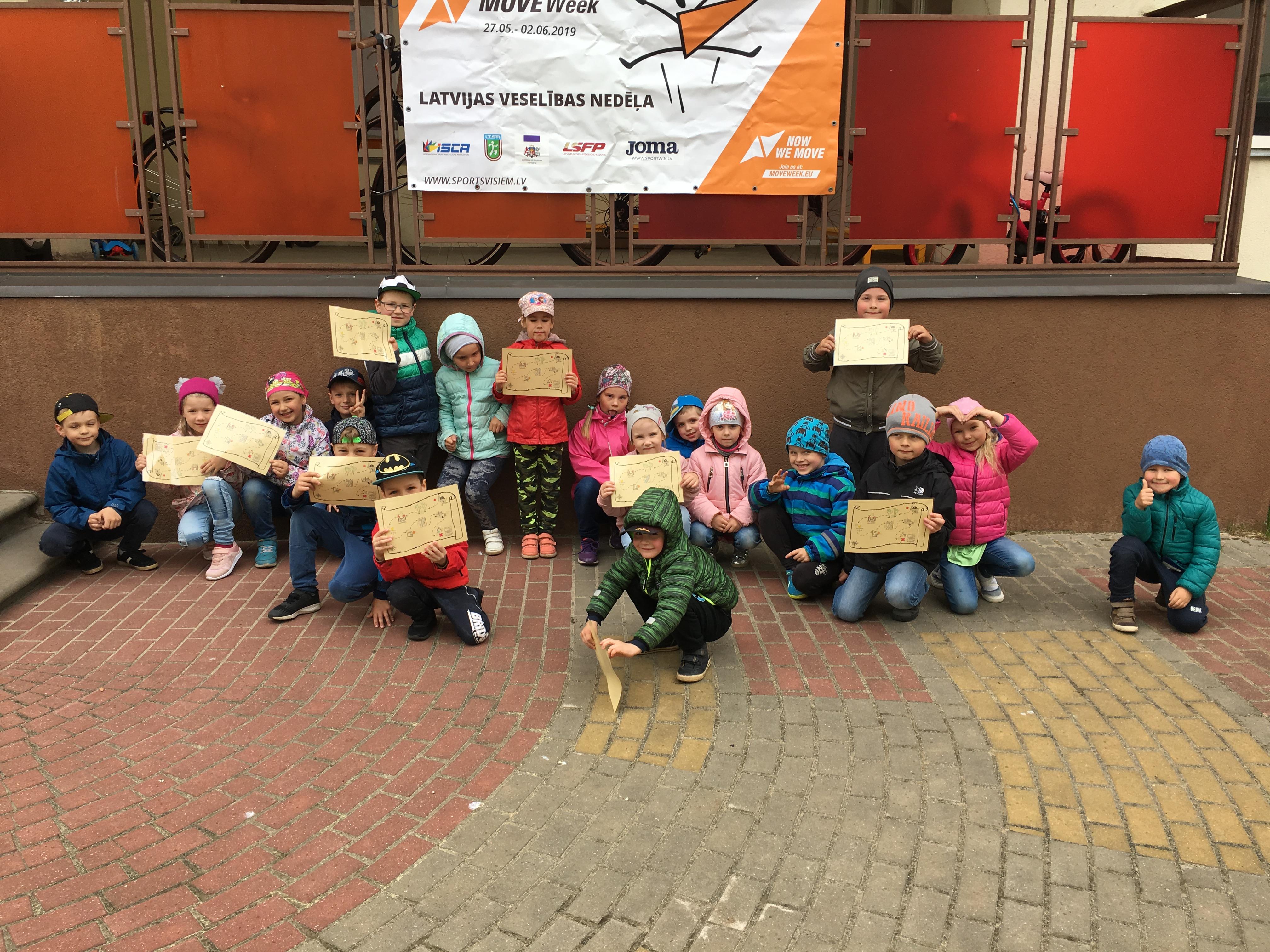 """PII """"Zvaigznīte"""" aktīvi iesaistās Latvijas Veselības nedēļā 2019"""