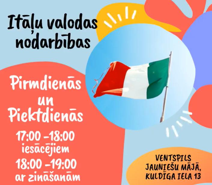 Itāļu valodas nodarbības