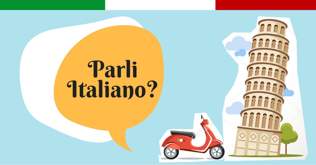 Aicina uz itāļu valodas nodarbībām