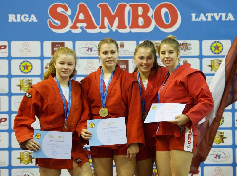 Marijai Seļezņovai sudraba medaļa Eiropas kadetu čempionātā sambo