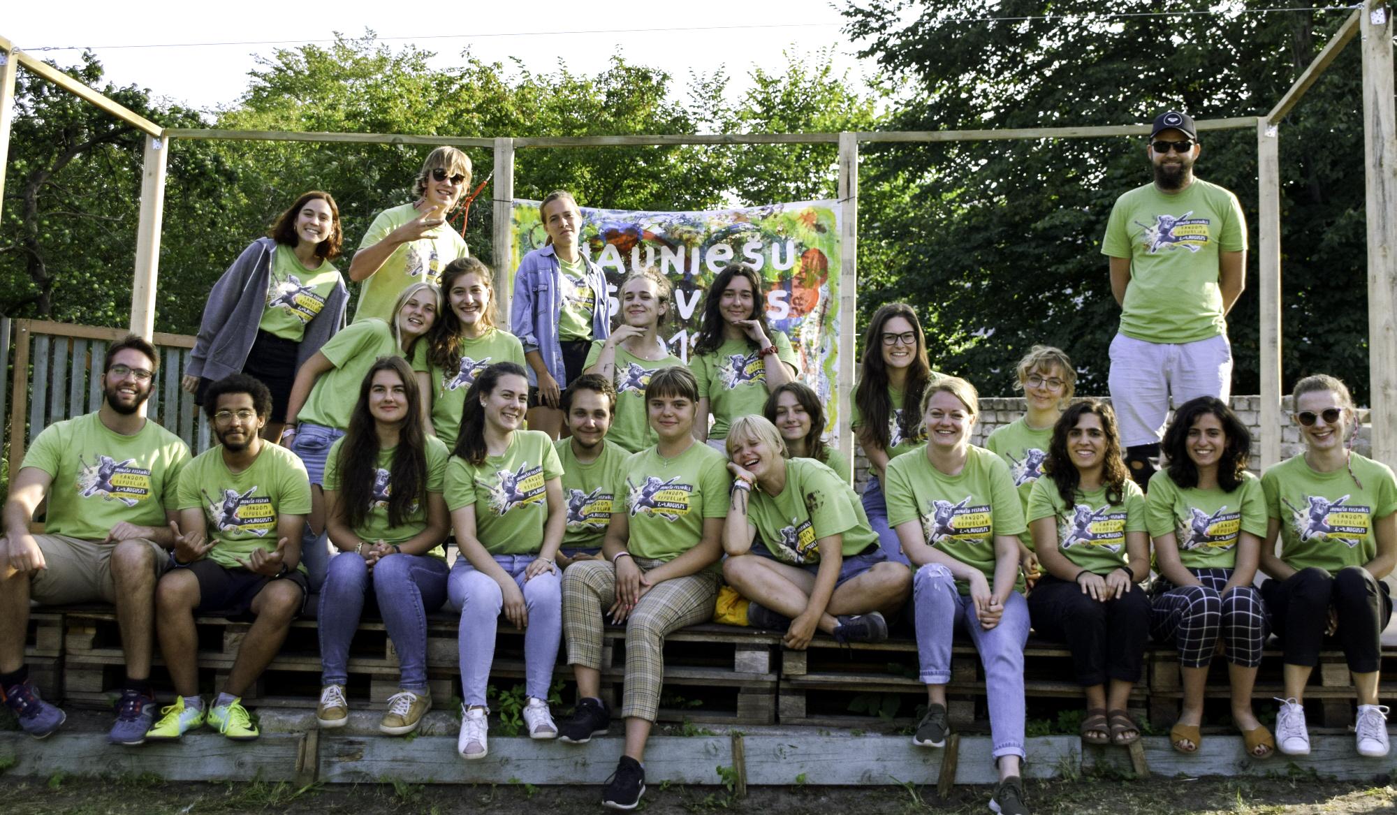 Jauniešu māja – atspēriena punkts brīvprātīgajam darbam Eiropā