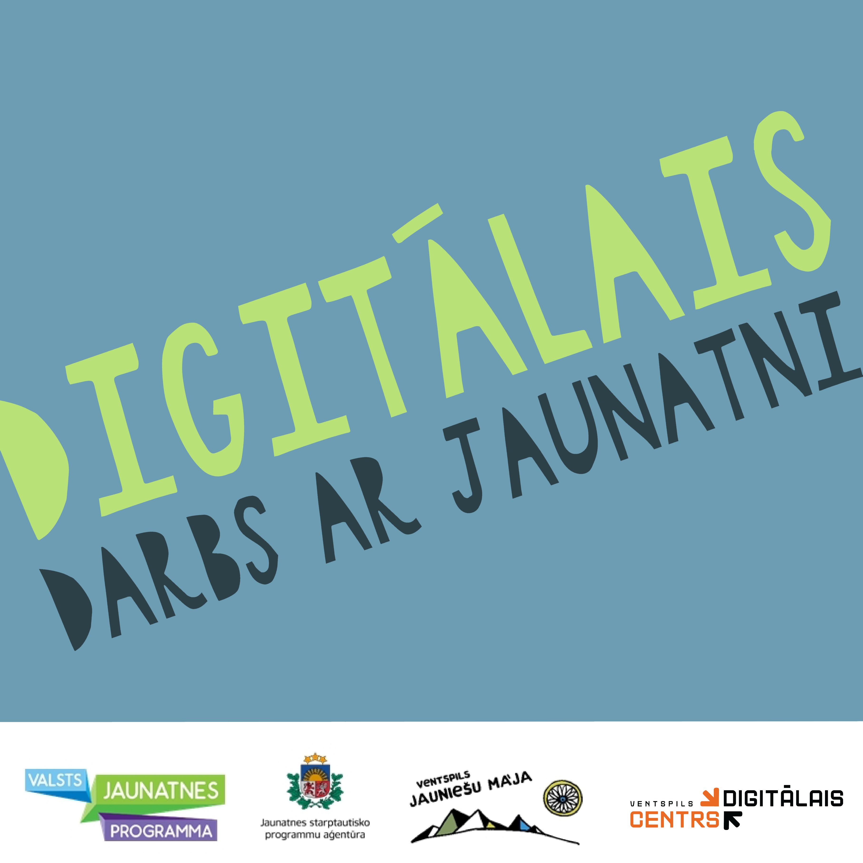 Attīsta digitālo darbu ar jaunatni
