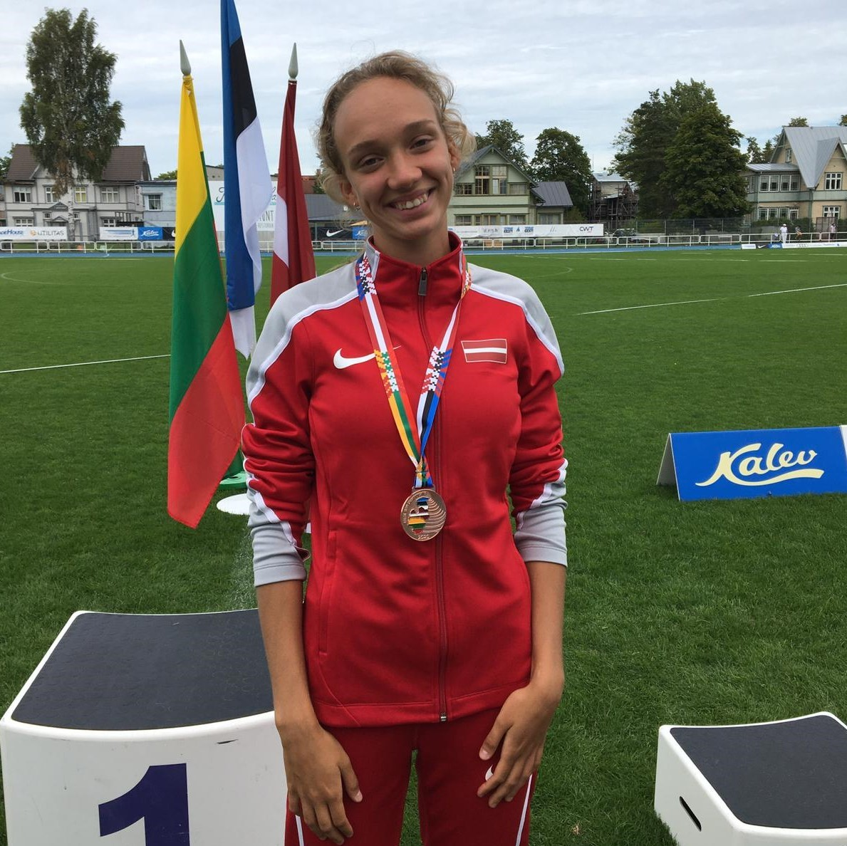 D. Sopova un M. Kaudze izcīna medaļas Baltijas čempionātā vieglatlētikā