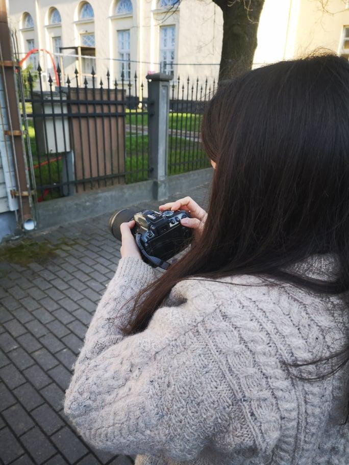 Atvērtās foto nodarbības kopā ar itāļu brīvprātīgo Alessandru
