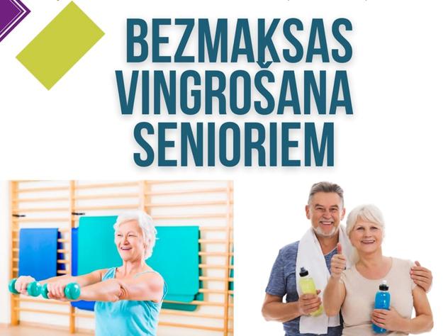 Ventspils senioriem būs bezmaksas vingrošanas nodarbības