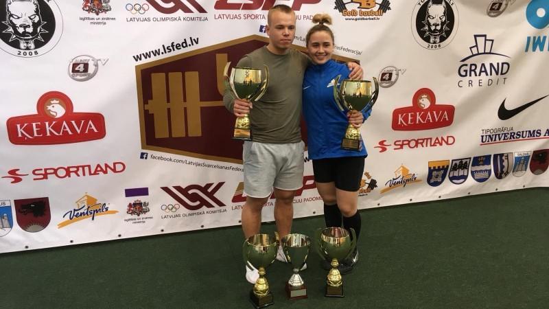 Koha un Suharevs uzvar Latvijas čempionātā svarcelšanā atsevišķos veidos