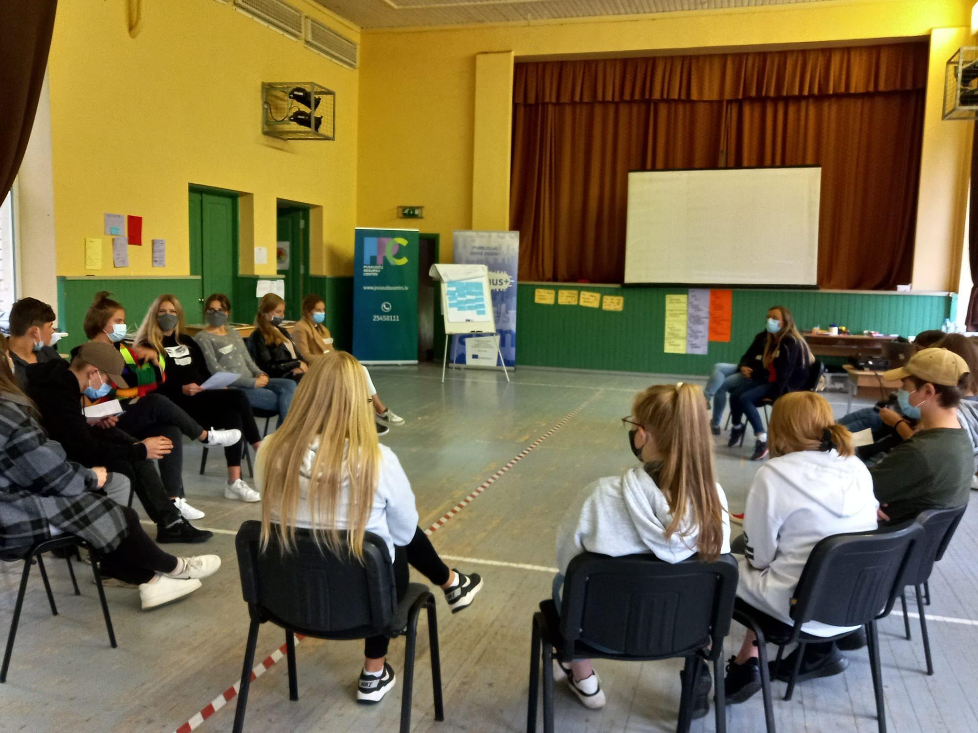 Ventspils skolēnu pašpārvaldes īstenos labbūtības projektus