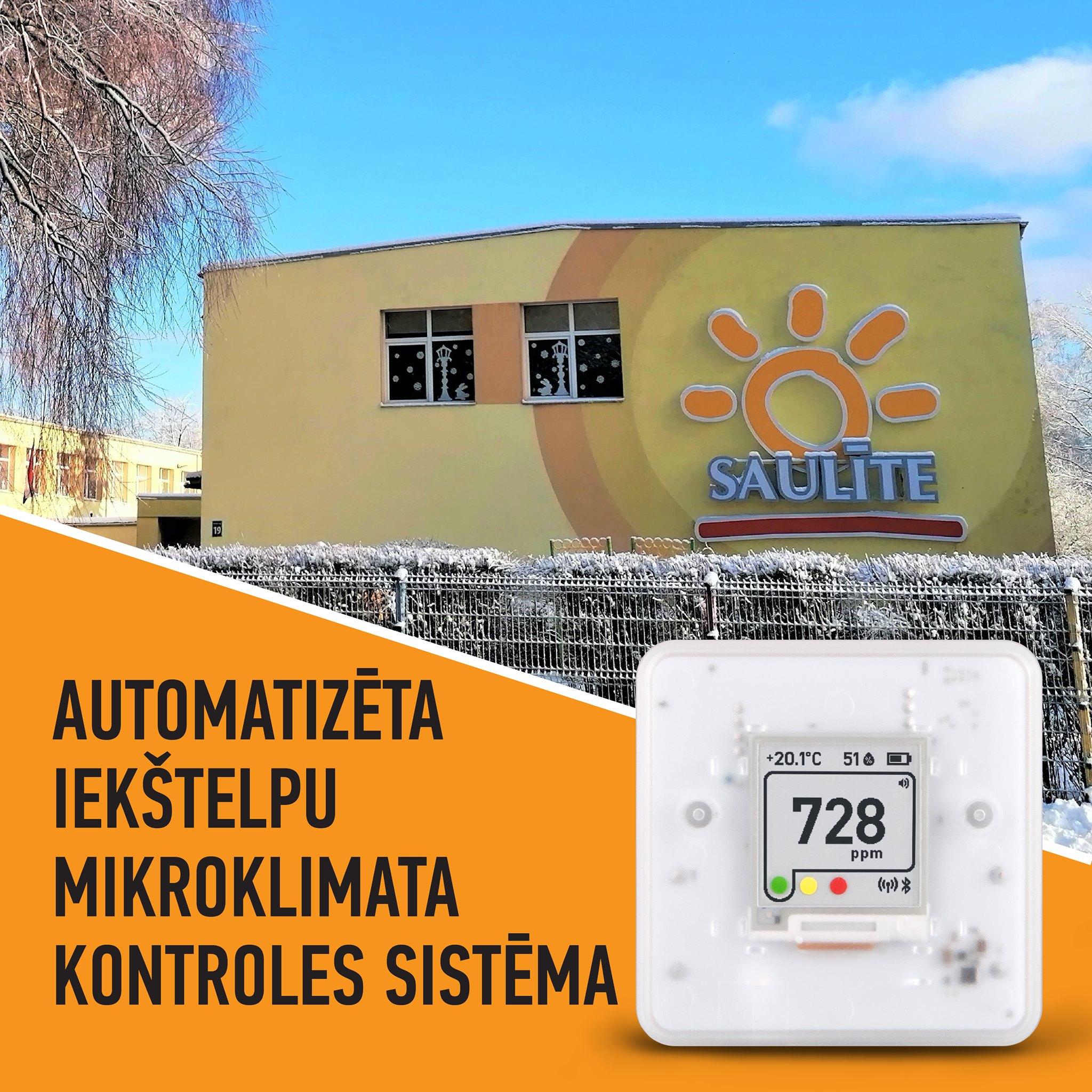 Iekštelpu mikroklimatu kontrolēs automatizēti